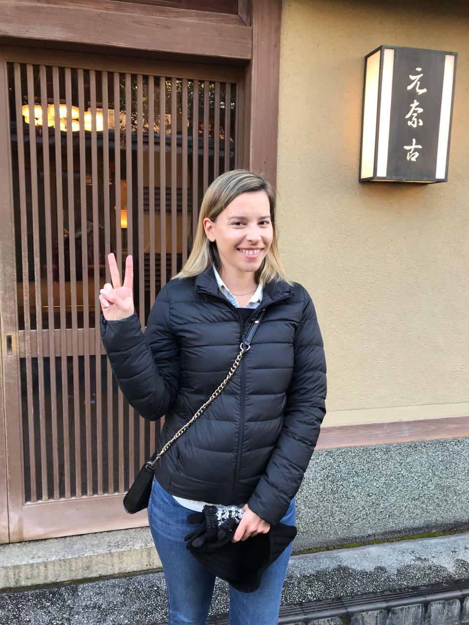 Allie outside Motonago.jpg
