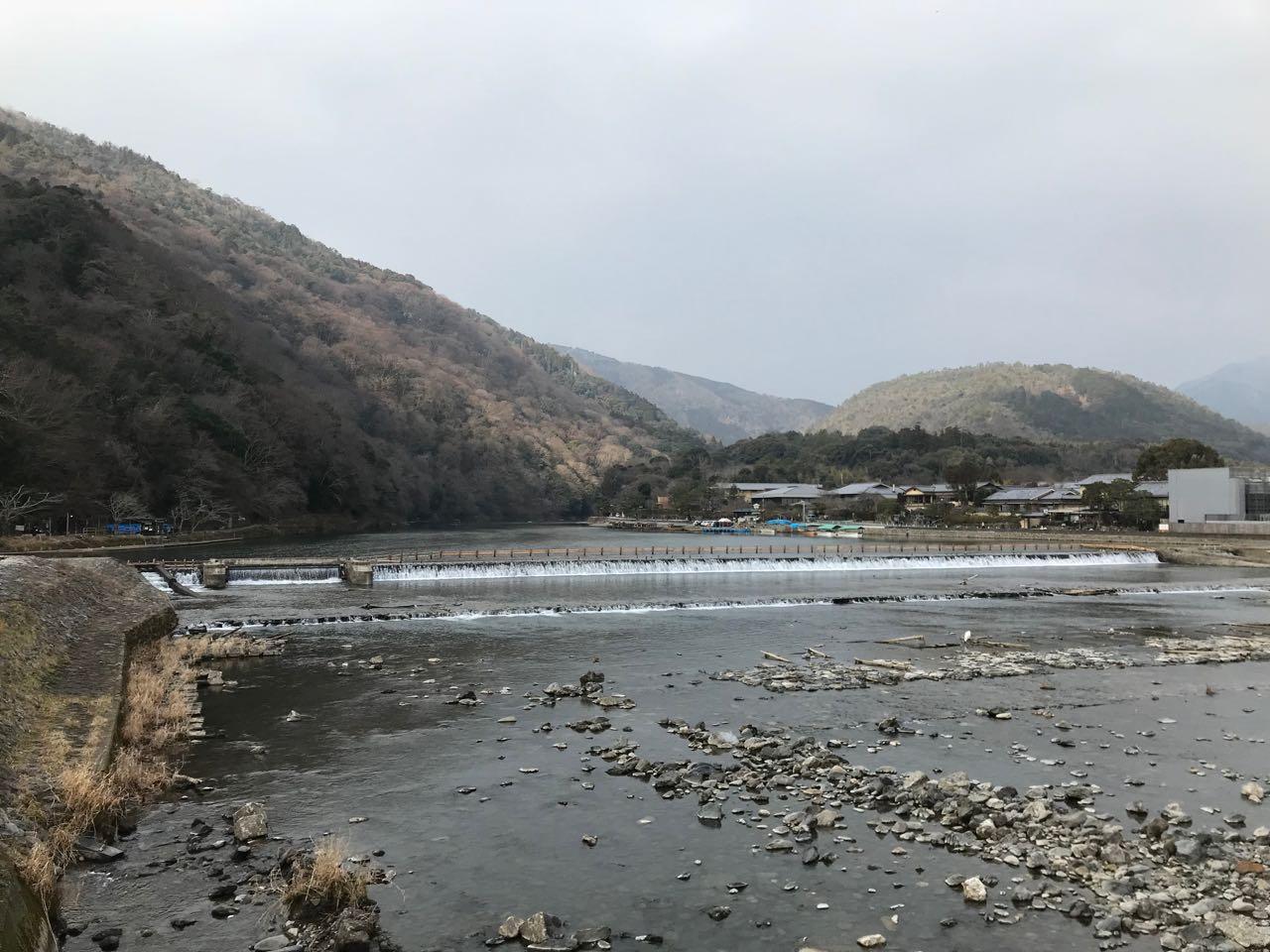 Kyoto bridge view