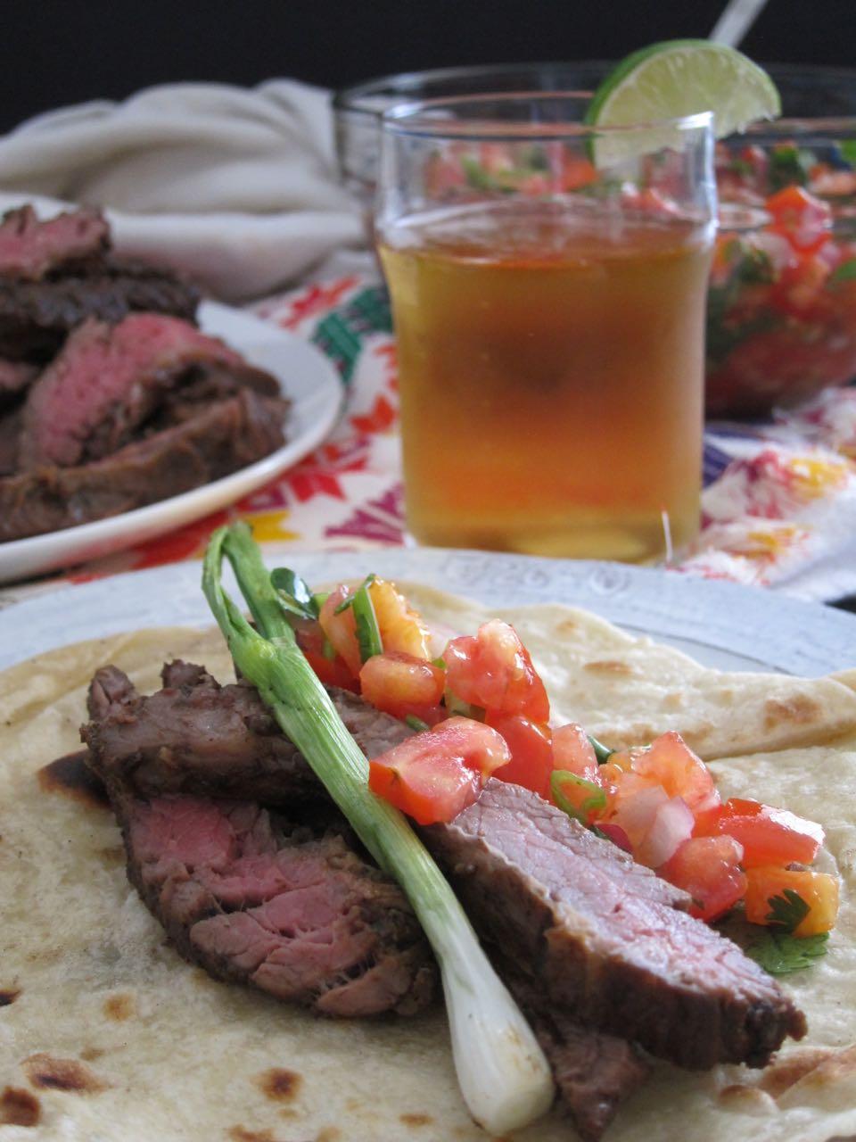 carne asada feast