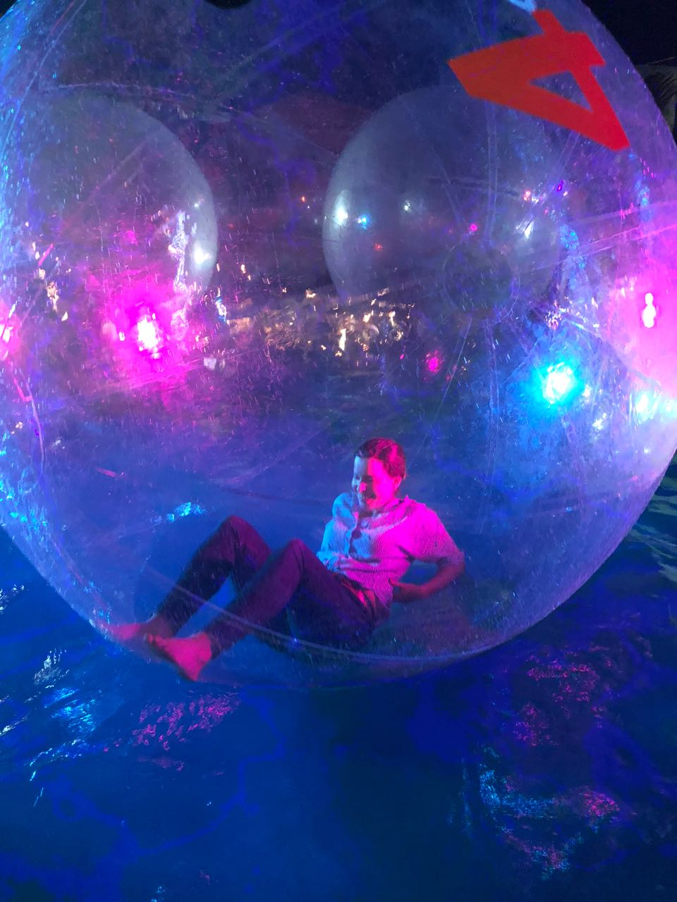 Floating in a bubble