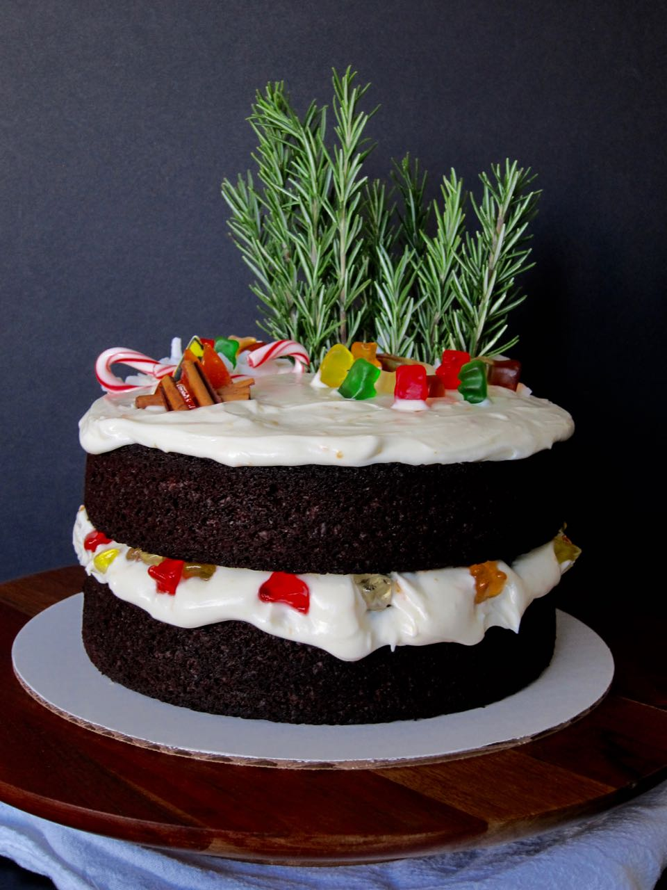 Drunky Bears Gingerbread Cake