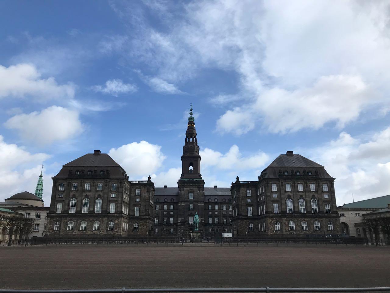 back of Christiansborg Slot