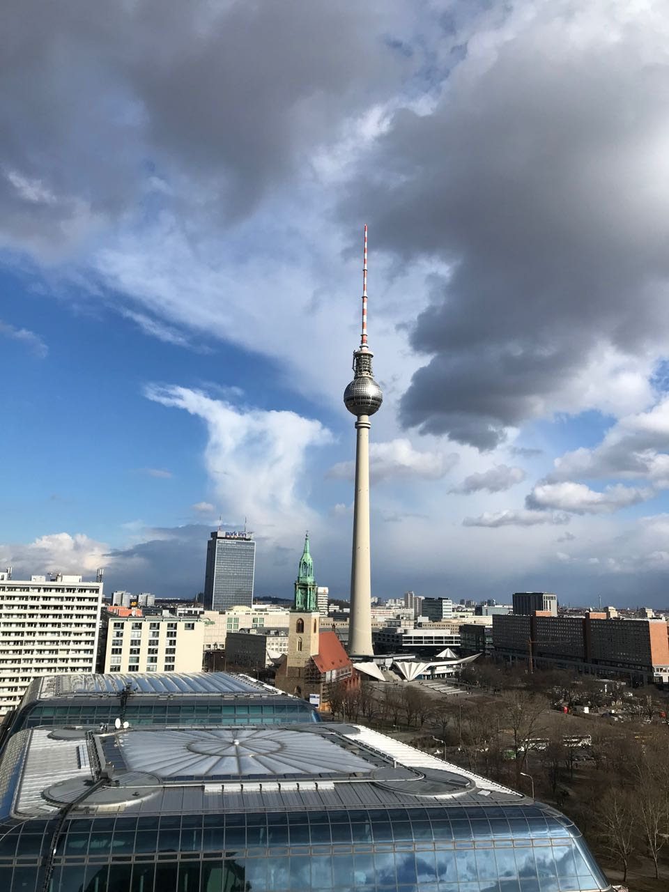 view from Berlin cathedral