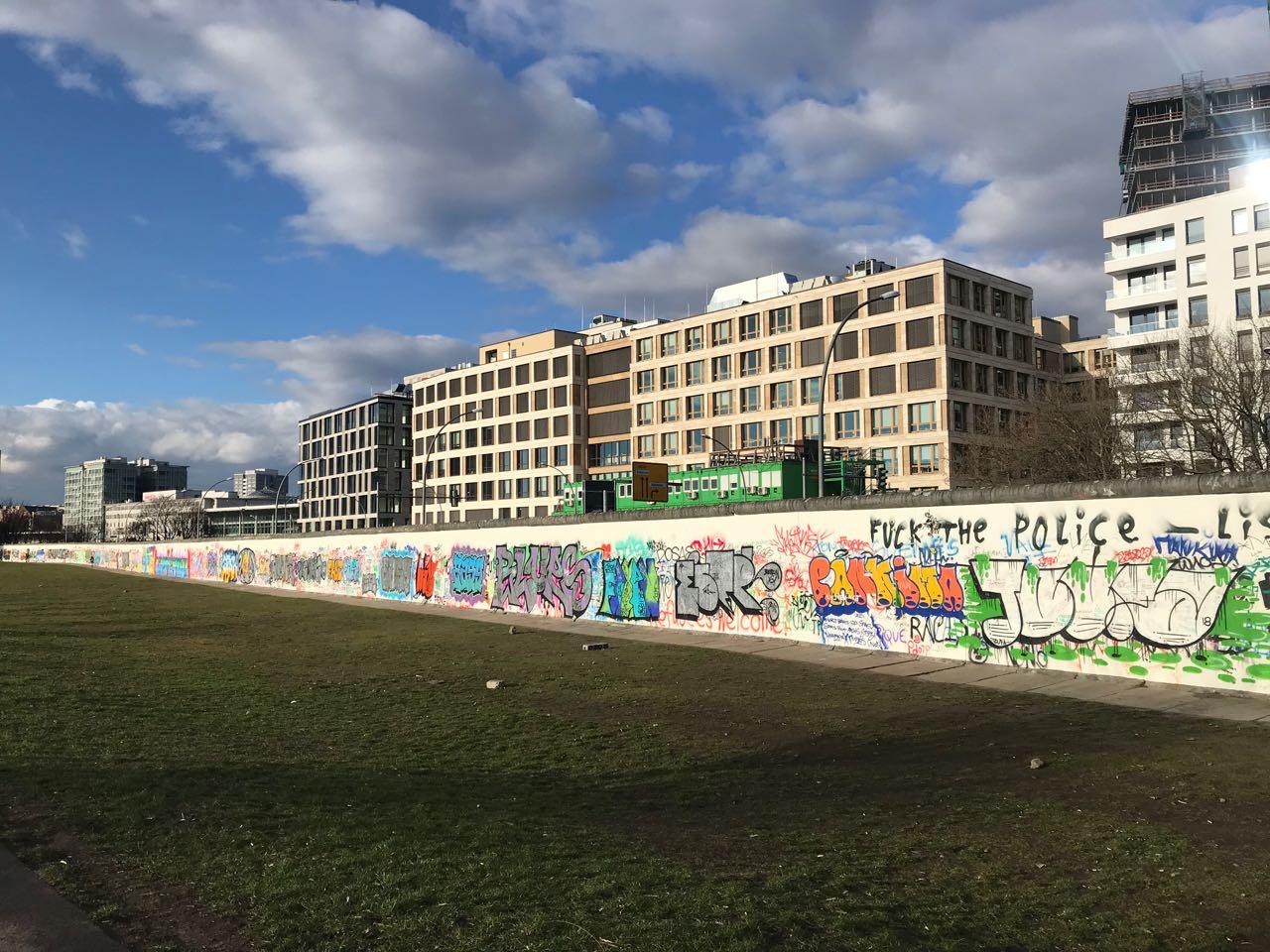 Berlin Wall Eastside Gallery
