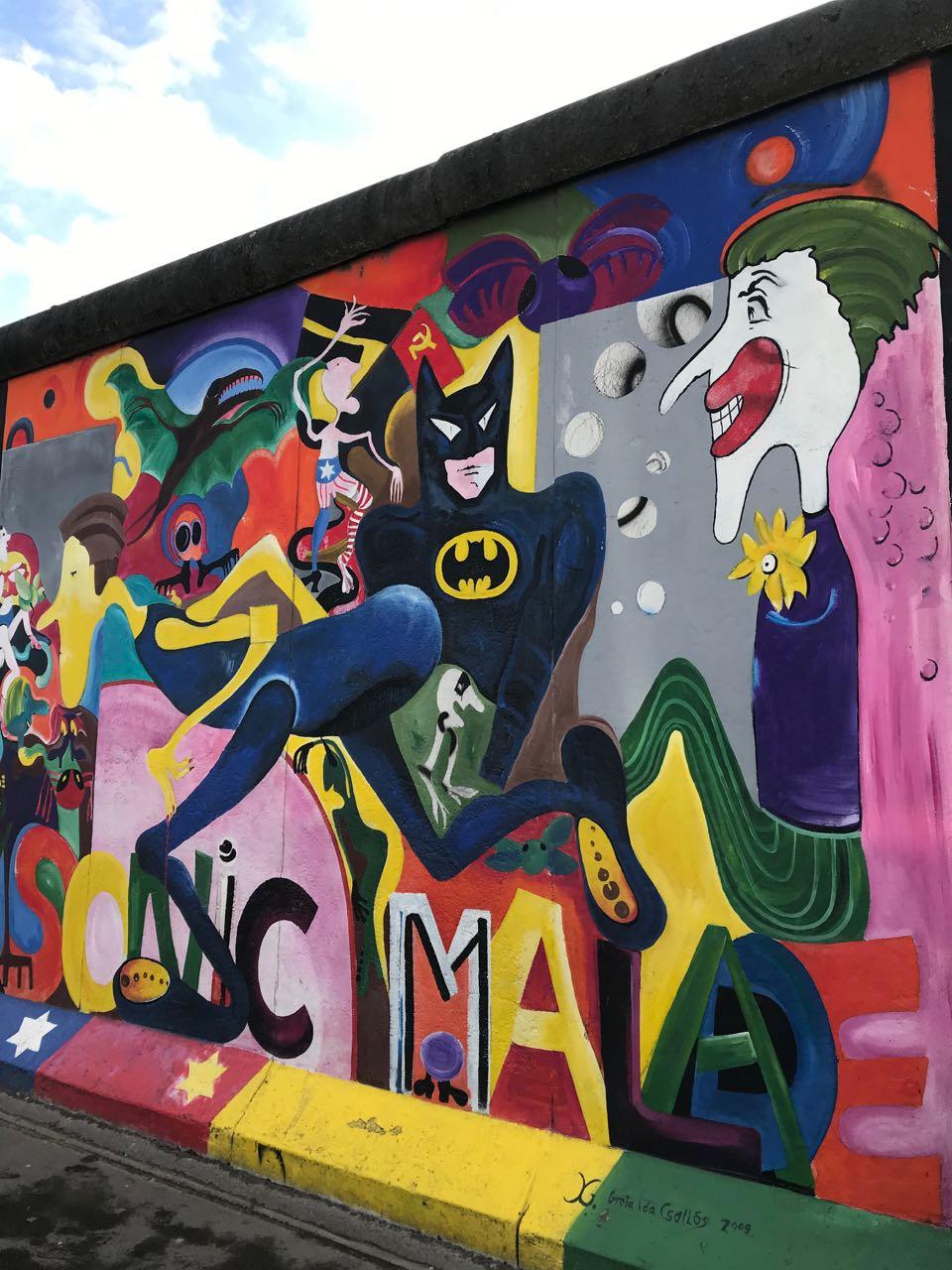 Batman Graffiti Berlin
