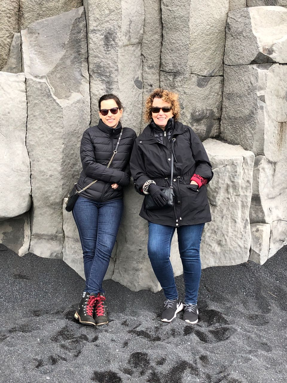 Allie & Mom at black sand beach.jpg