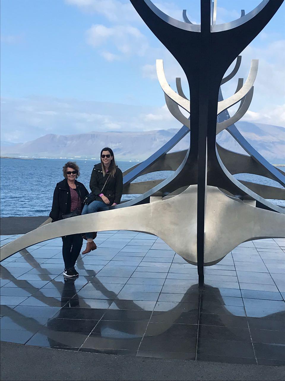 Mom and Allie at viking ship.jpg