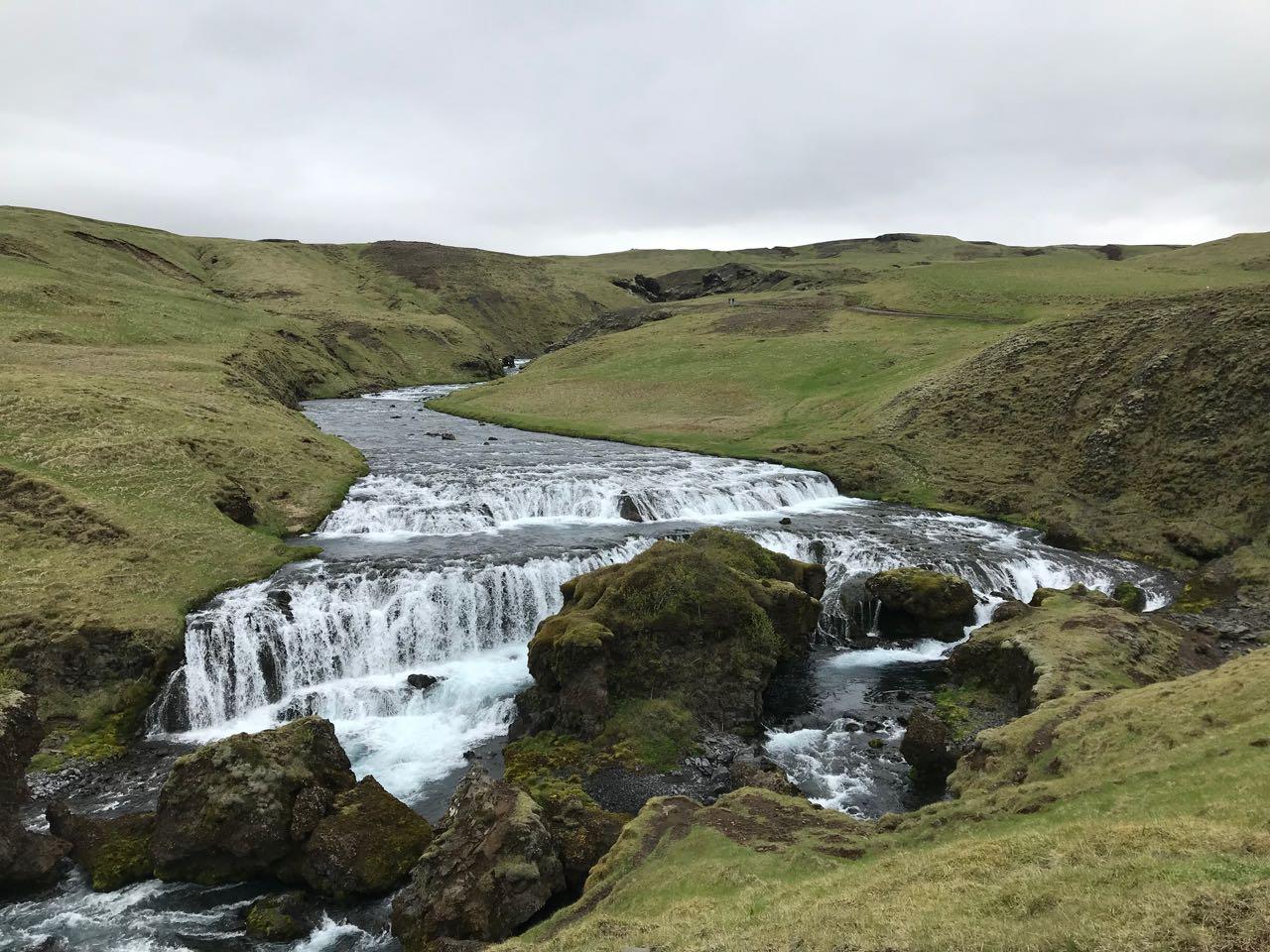upper falls Iceland