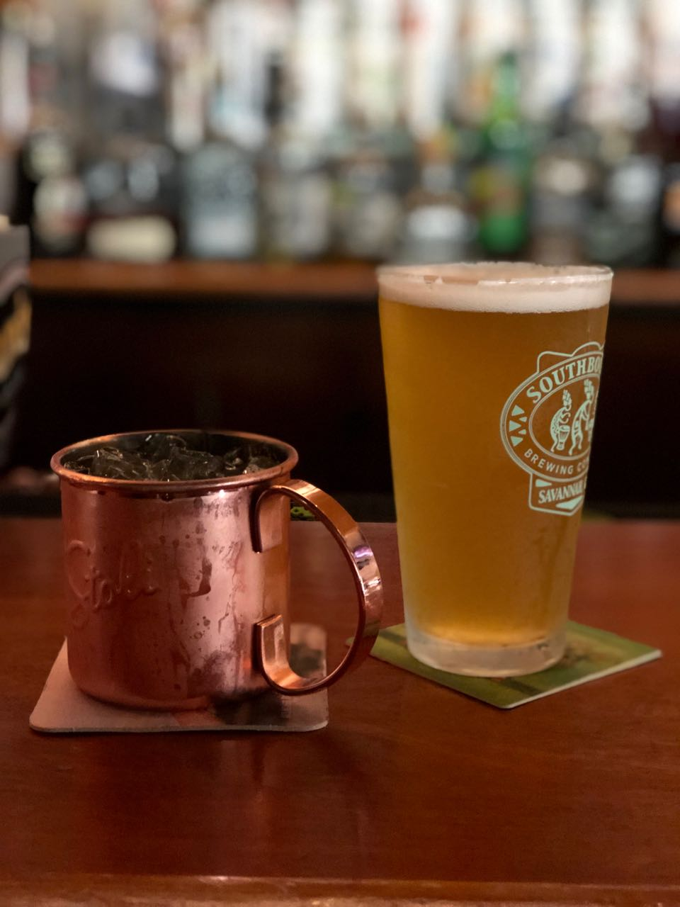 drinks at Crystal Beer Parlour.jpg