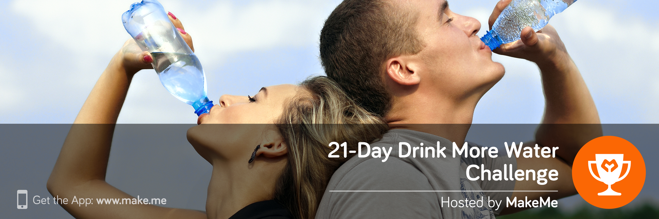 21-Day Drink More Water Challenge