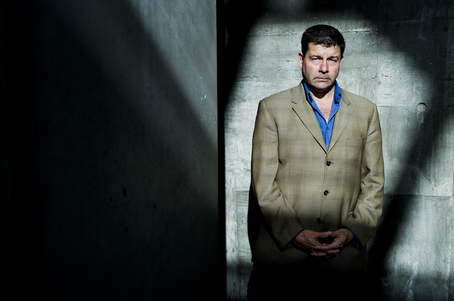 Canadian journalist Scott Taylor is photographed at War Museum in Ottawa. In 2004, while covering the conflict in Iraq, Taylor was kidnapped by Ansar Al-Islam and held captive for five days.