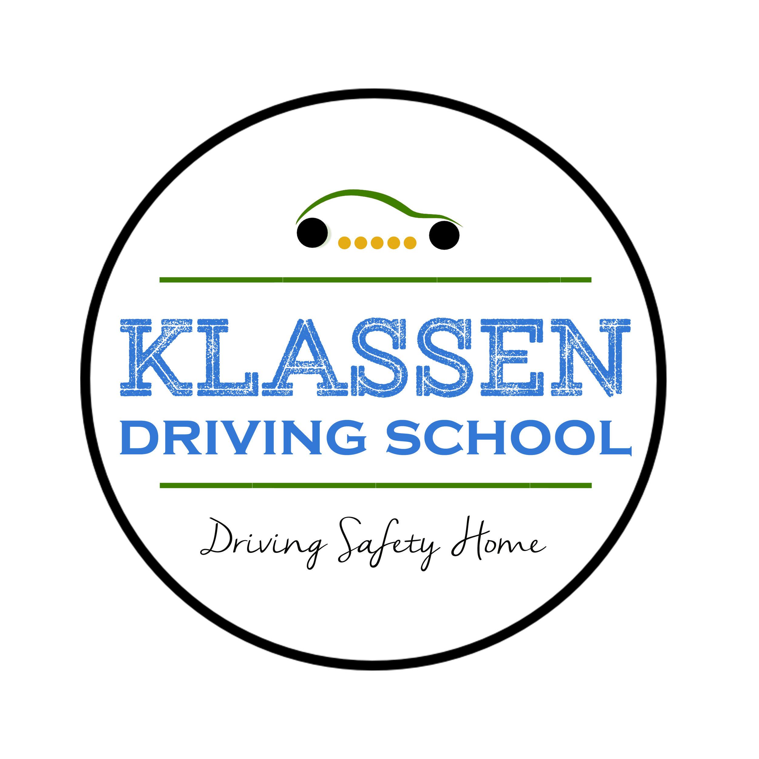 saskatoon logo design, lisa landrie, klassen driving school