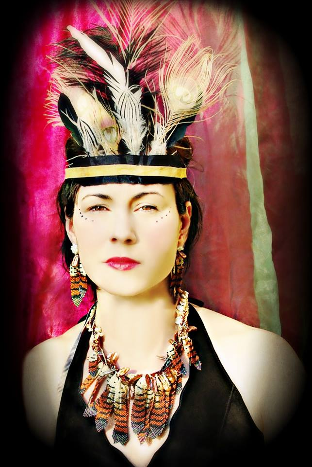 karin alisa houben hawk feather necklace photographed by Michelle Merle Pace