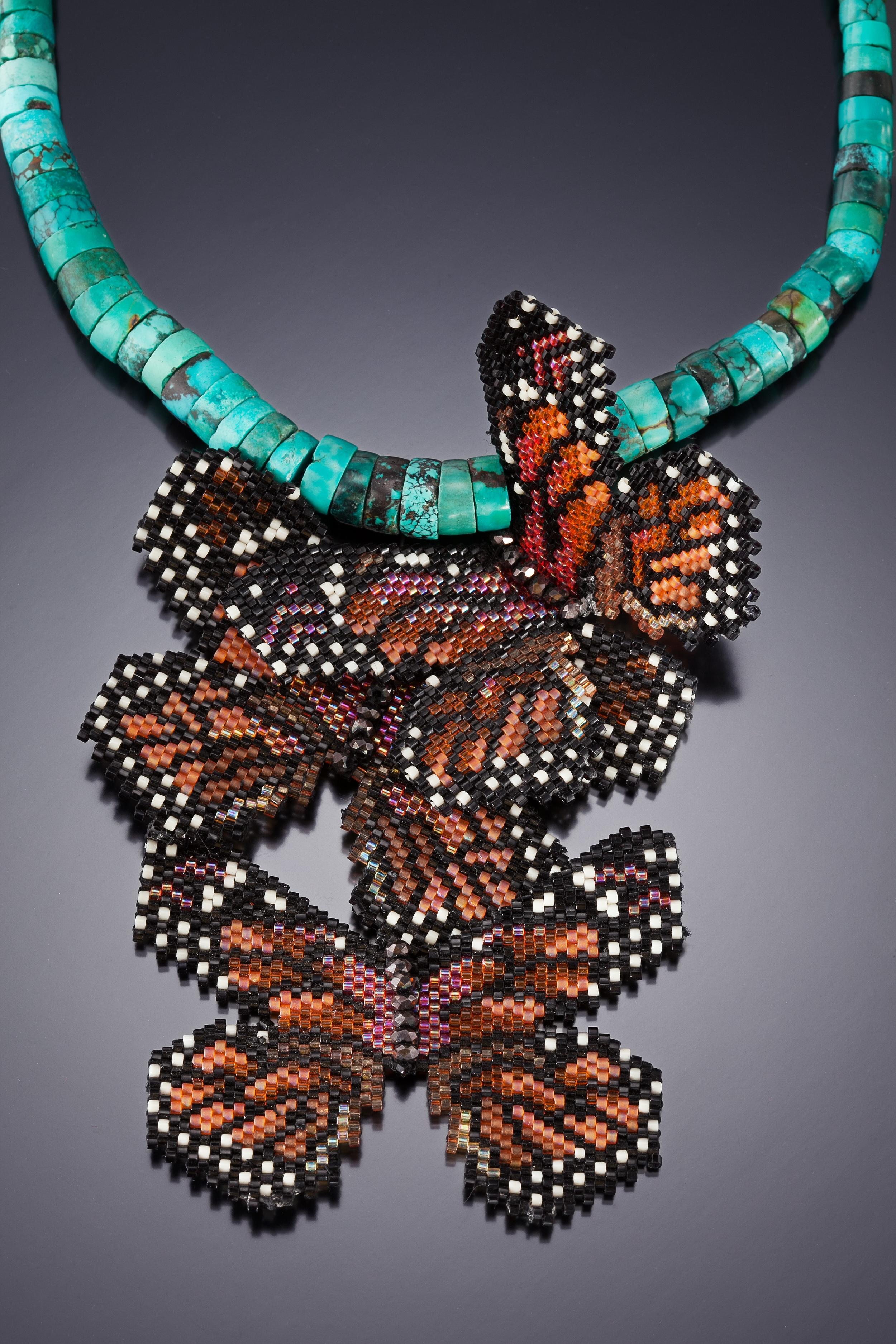 Monarch Migration Necklace