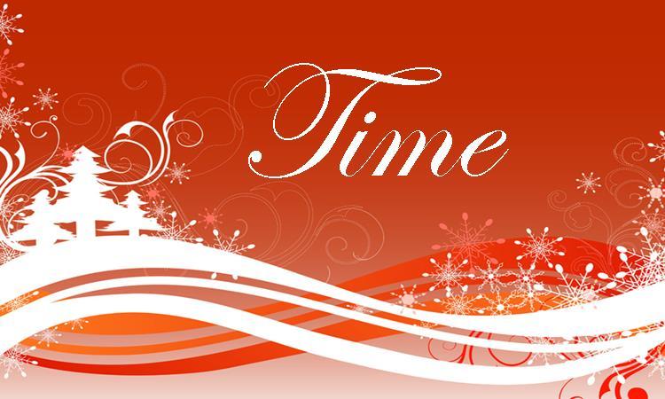 Time A Christmas Gift