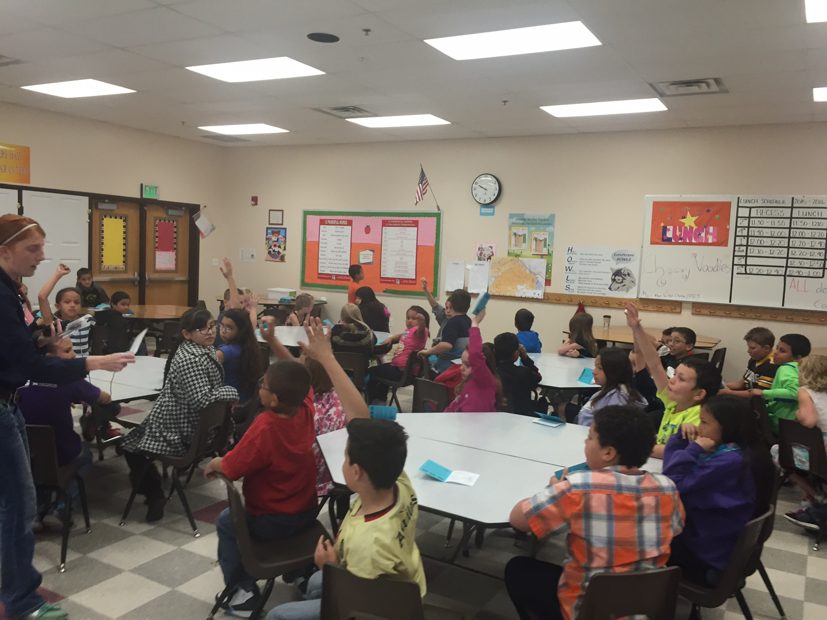 CCA Stewardship Coordinator, Bry Kuhlman, teaches students at Dos Rios about Leave No Trace before their Nature Knowledge Days field trip!