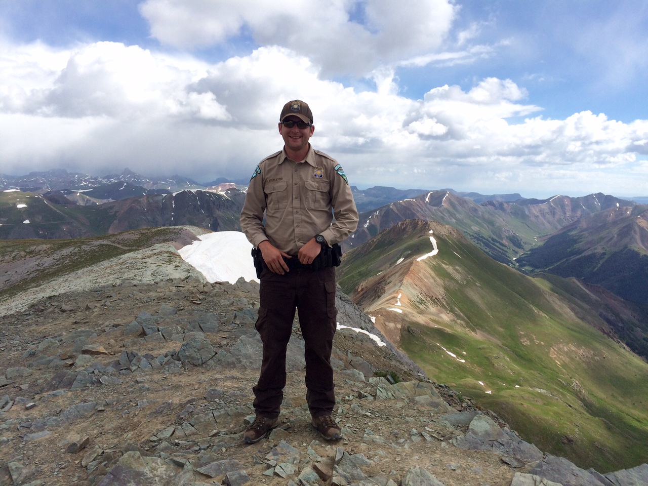 BLM Ranger, Frank Stepleton is the Bureau of Land Management's 2015 Ranger of the Year!