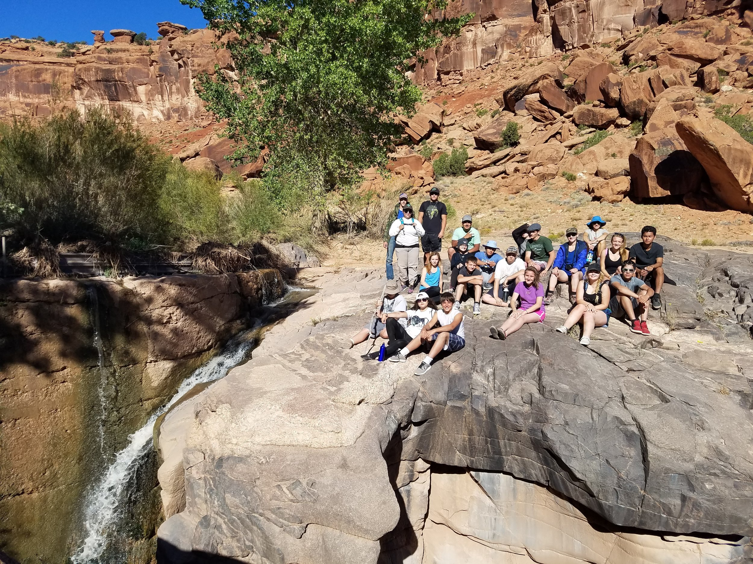 Through active collaboration,trip planning, and relationship development, the students build the confidence to begin their own adventures as outdoor enthusiasts.