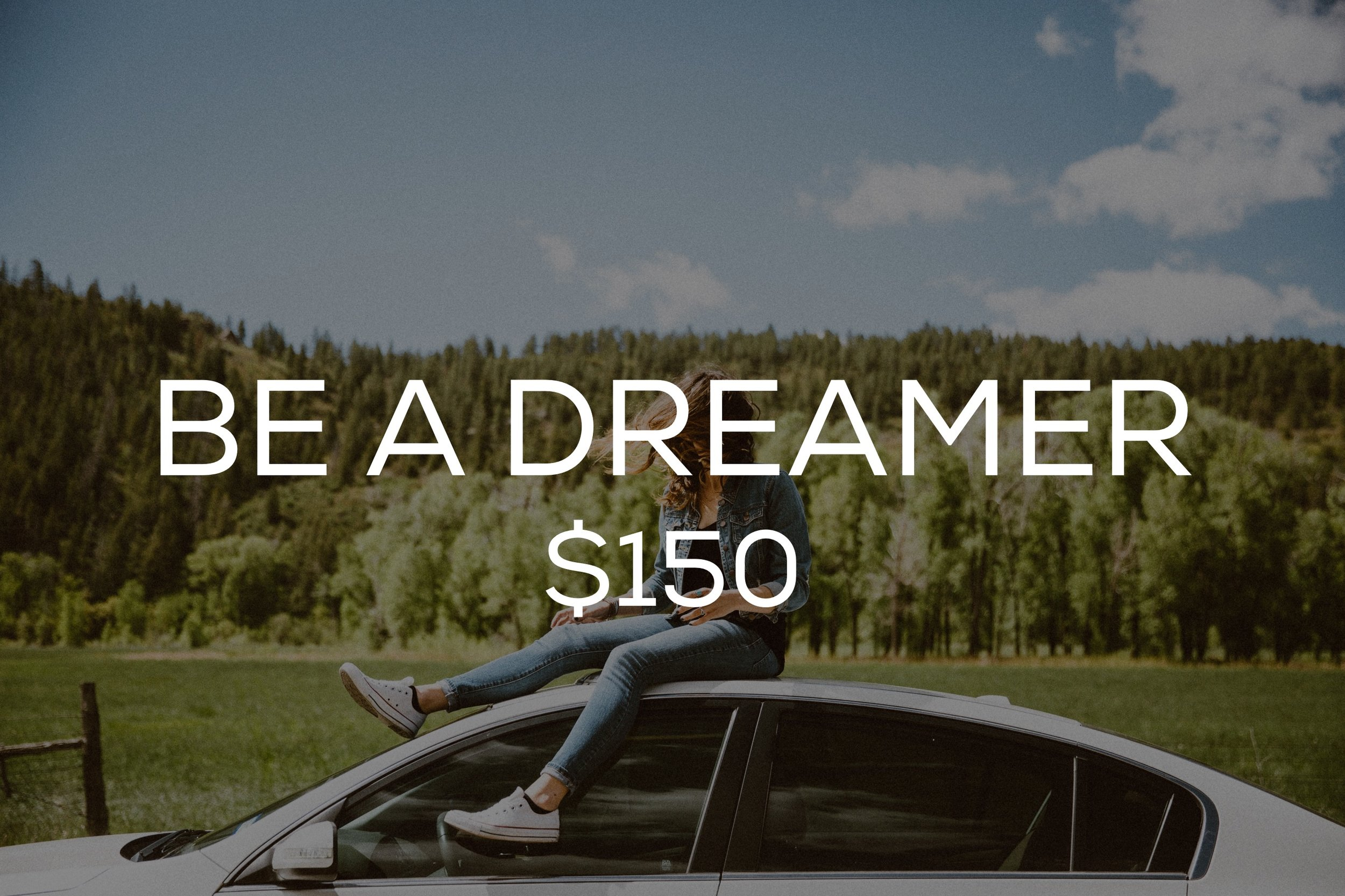 Do you have vision for your life? Do you know what your purpose is? This package will include three 30 minute sessions on how to become a dreamer and cast vision for your life!