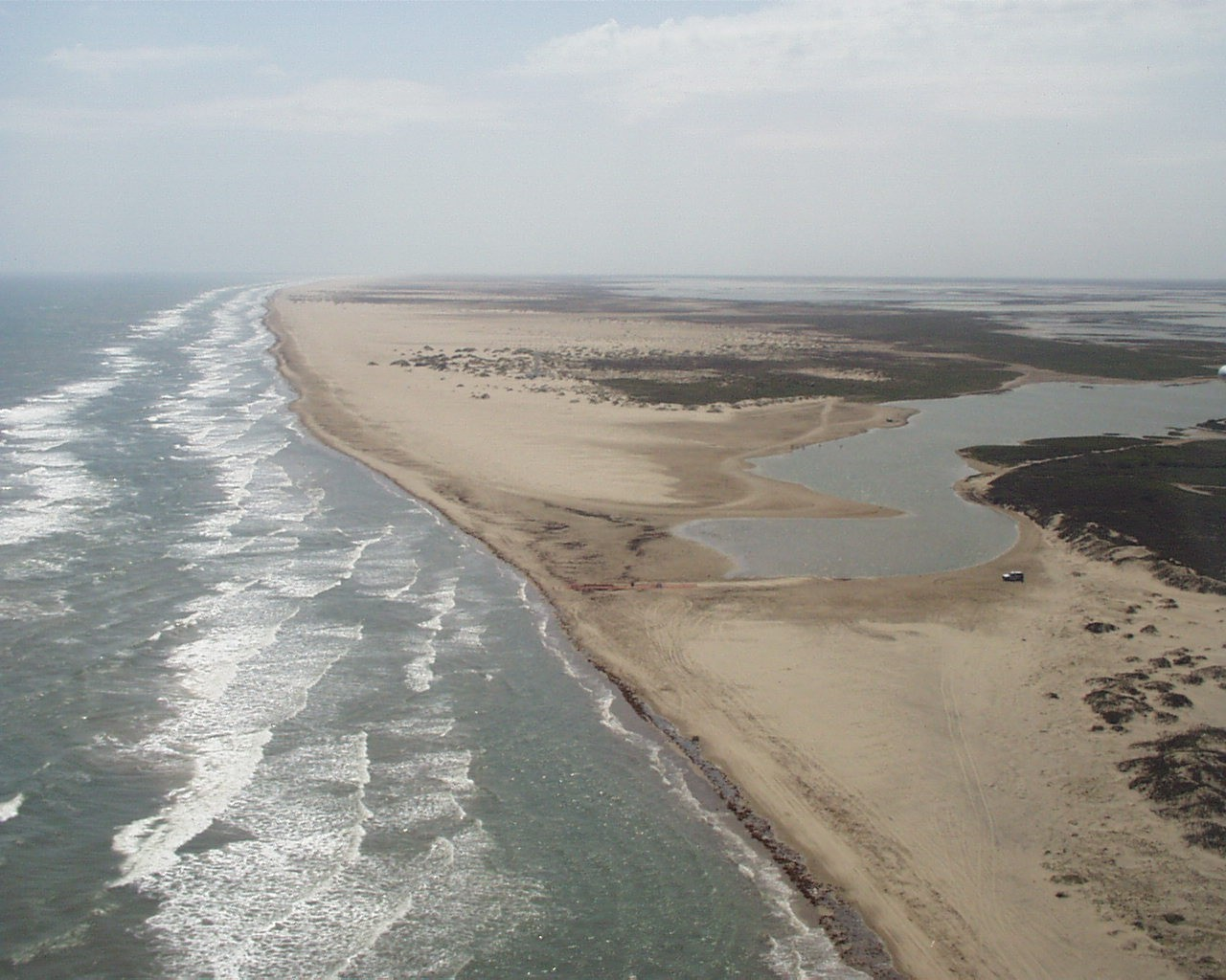 In 2001, the Rio Grande didn't quite make it to the Gulf of Mexico for the first time. Source: texaslivingwaters.org