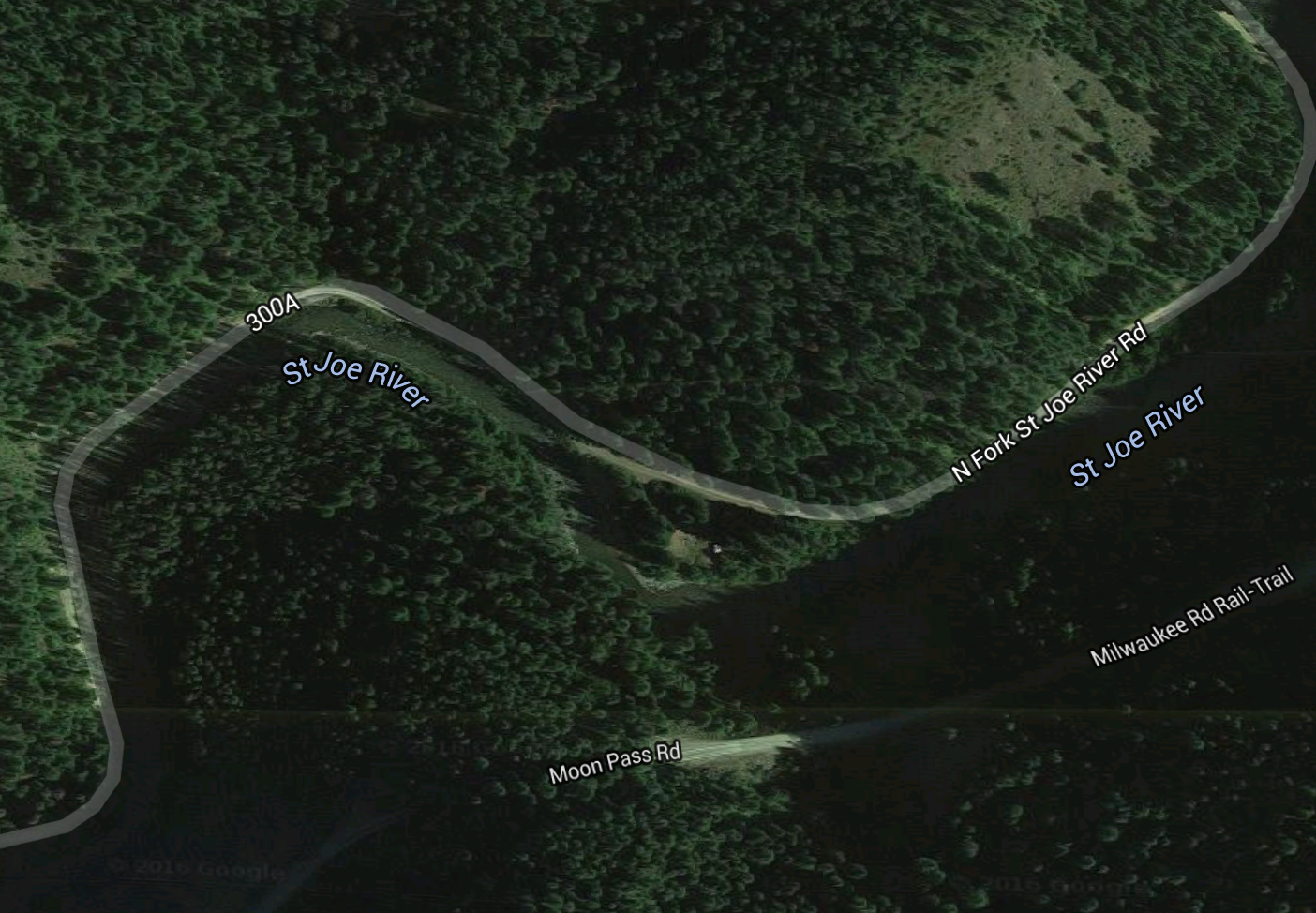This was the campground we had. Exact Location  here .