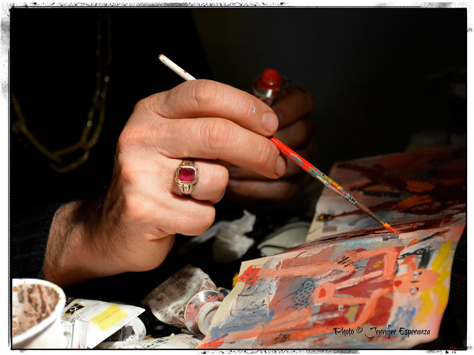 Richard Kurtz • Working Detail by Jennifer Esperanza
