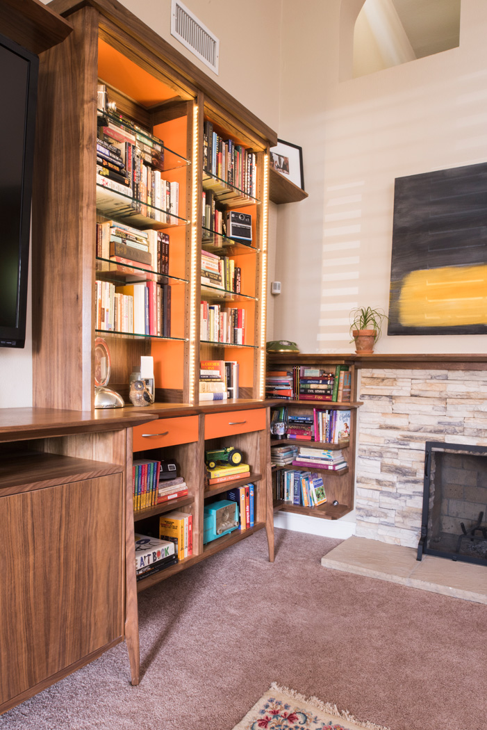 Image of: Bookshelves Entertainment Centers Able And Baker Custom Cabinetry