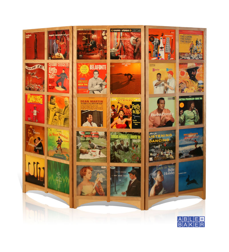 LP Room Divider, Maple or Painted Finish