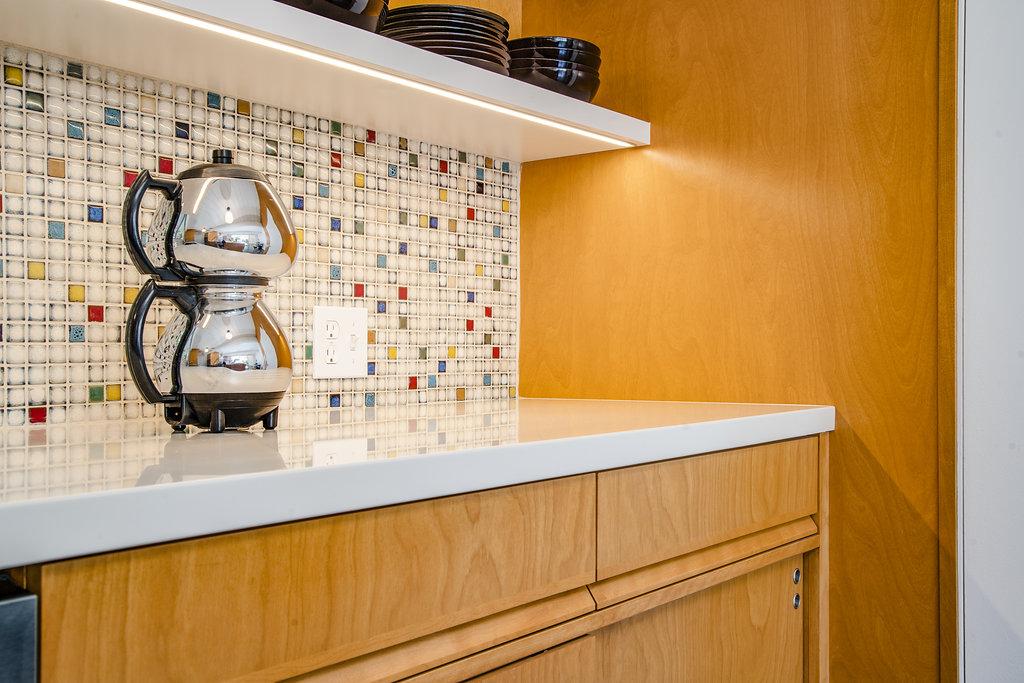 Custom Cabinetry for Eichler Home