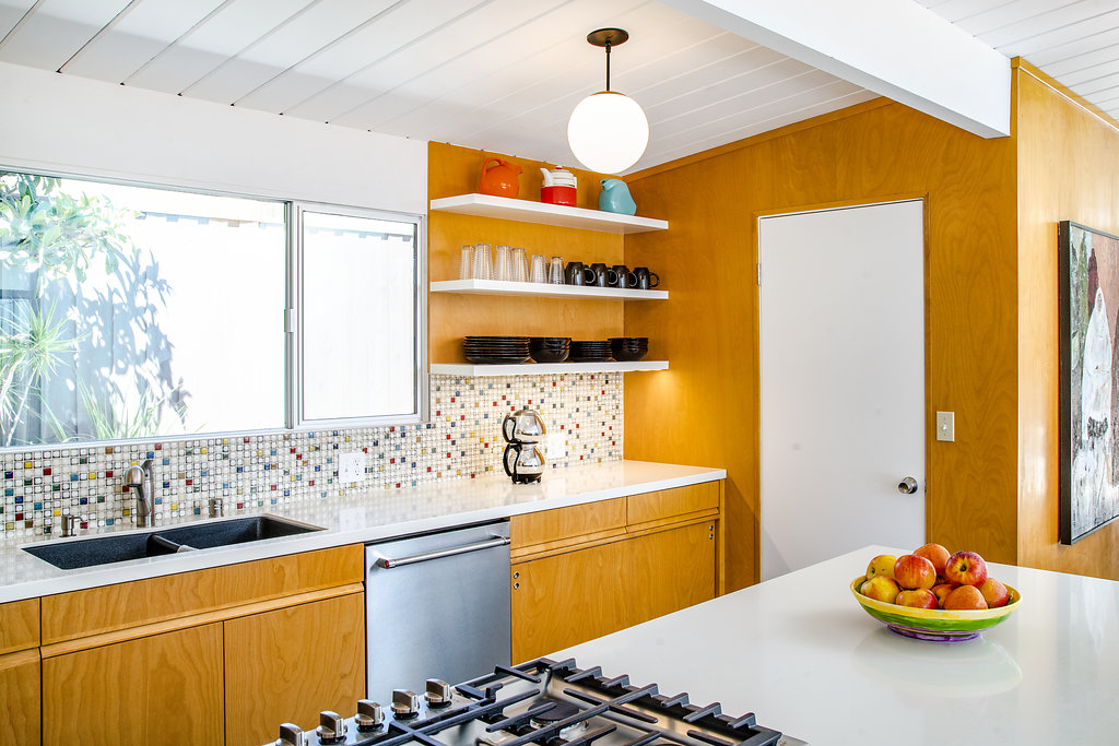 Custom Cabinetry for Southern California Eichler Home