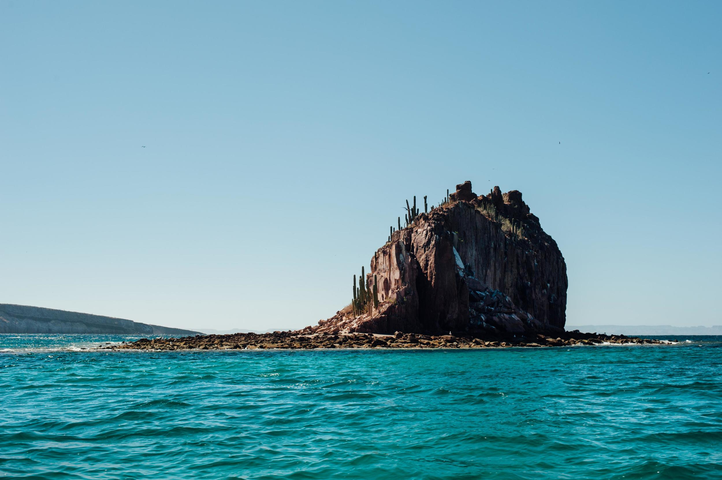 Isla Espiritu Santo Baja Mexico