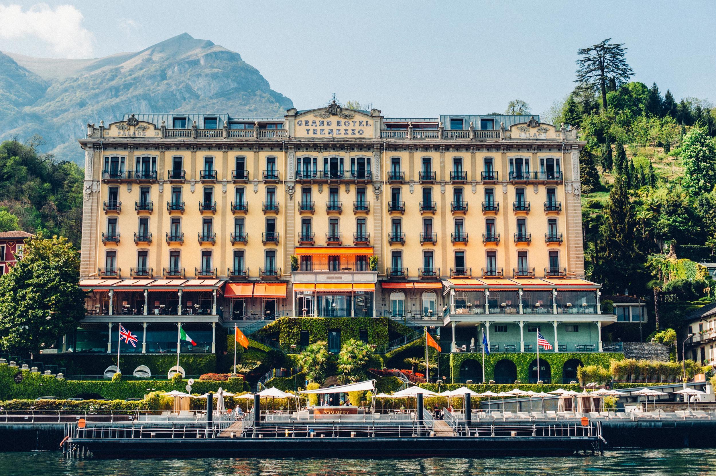 Hotel Grand Tremezzo Lake Como Italy