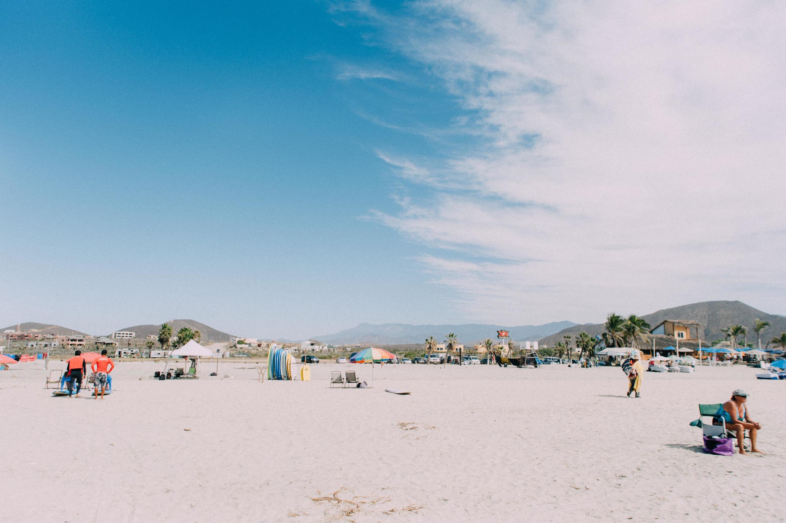Playa Cerritos Todos Santos