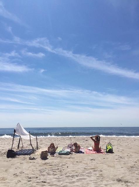 Beach Tent Fort