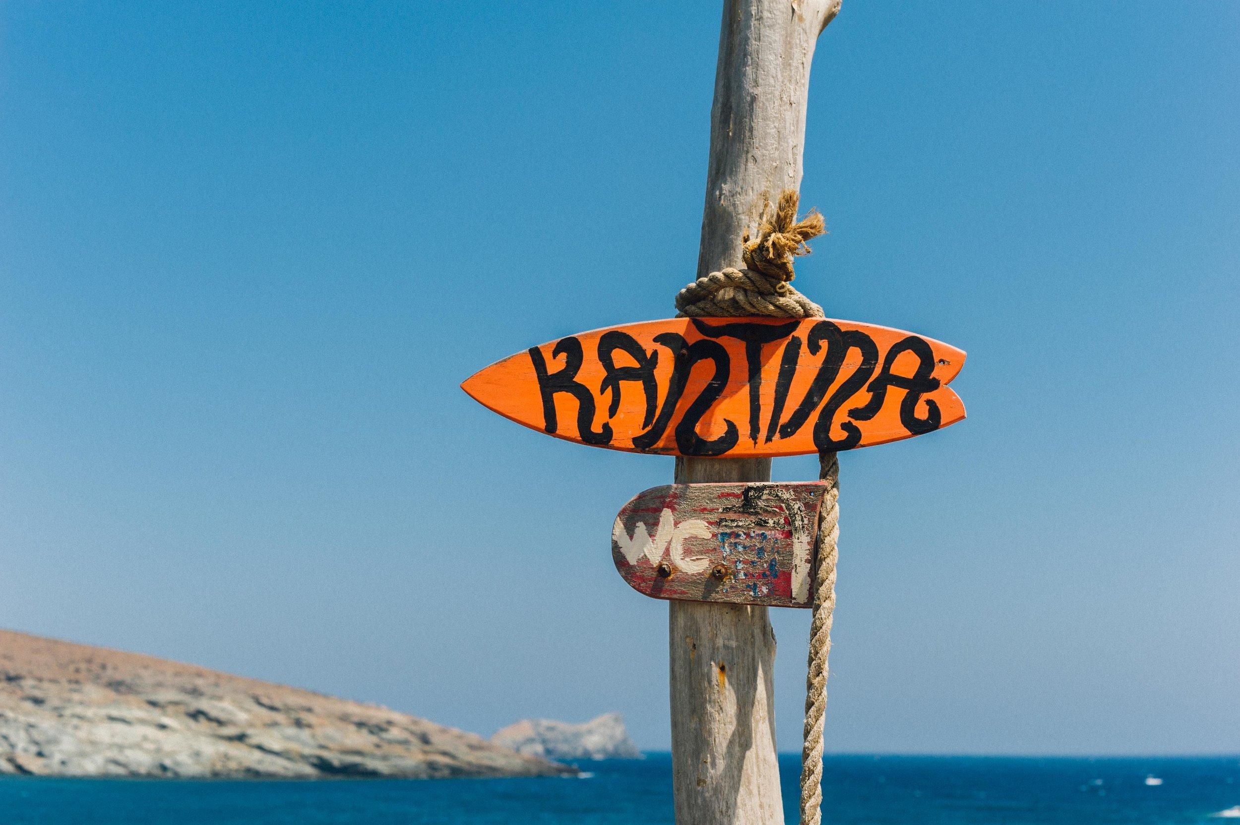 Surfing in Greece - Kolimbithra, Tinos