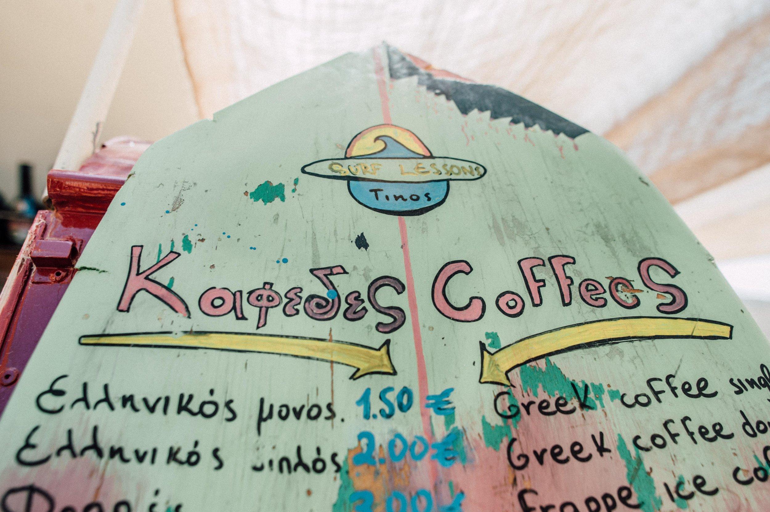 Surfing Greece - Kolimbithra Beach Tinos