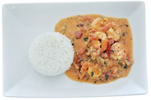 farfantepenaeus-aztecus-brown-shrimp-coconut-sauce-rice-recipe.JPG