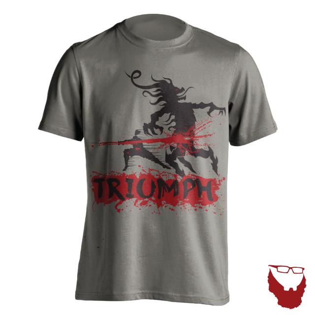 Triumph Grey T