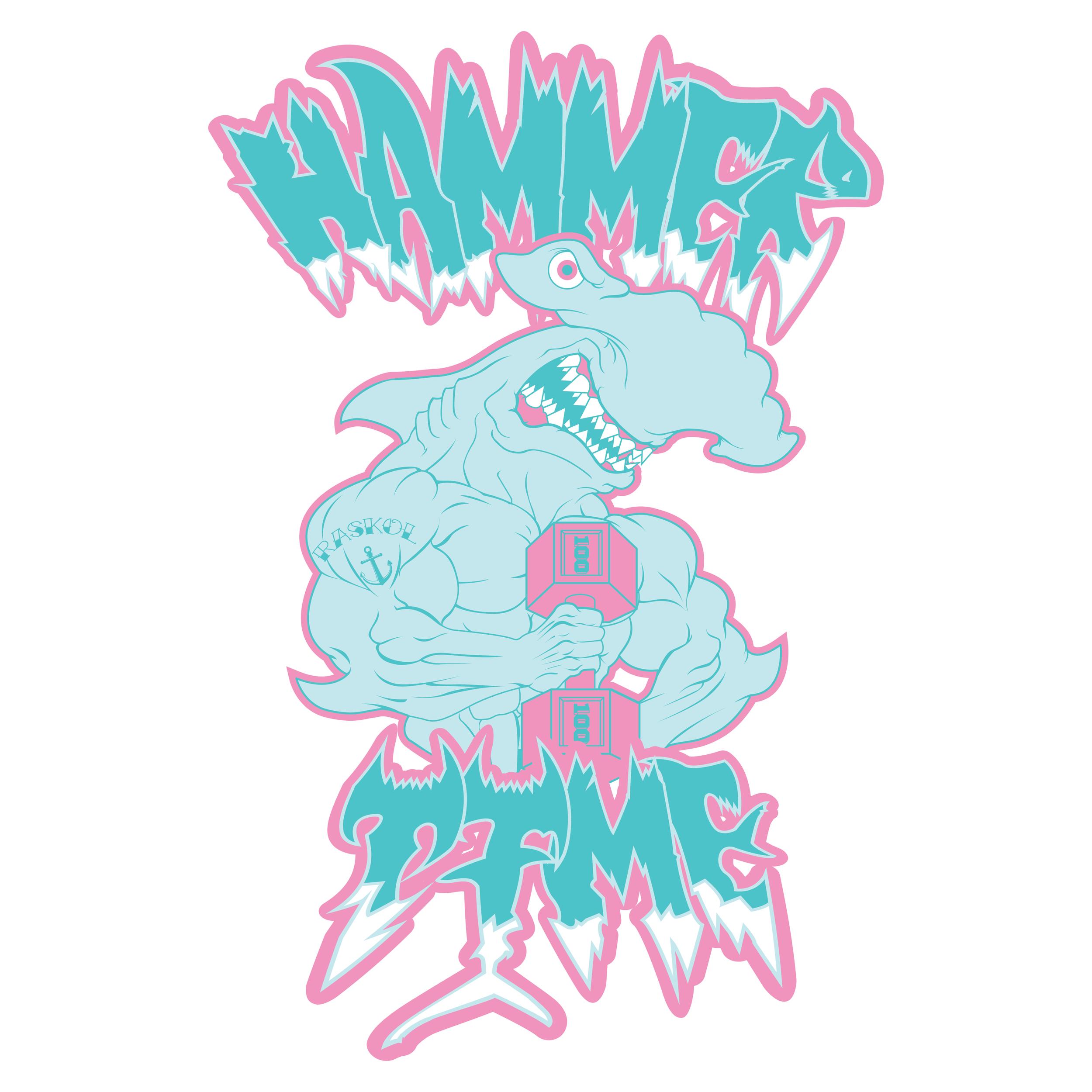 'HAMMER TIME WHITE'