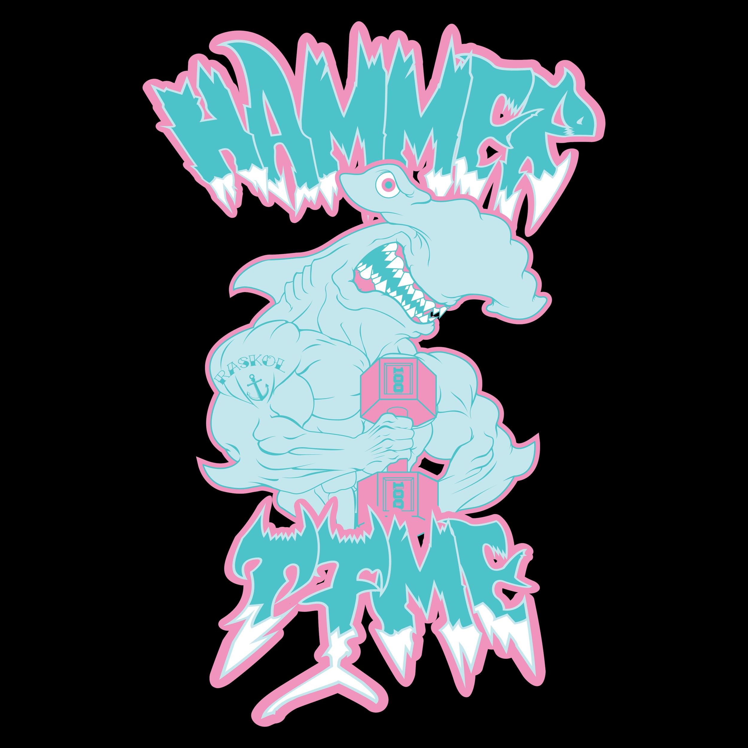 'HAMMER TIME DEATH METAL BLACK'