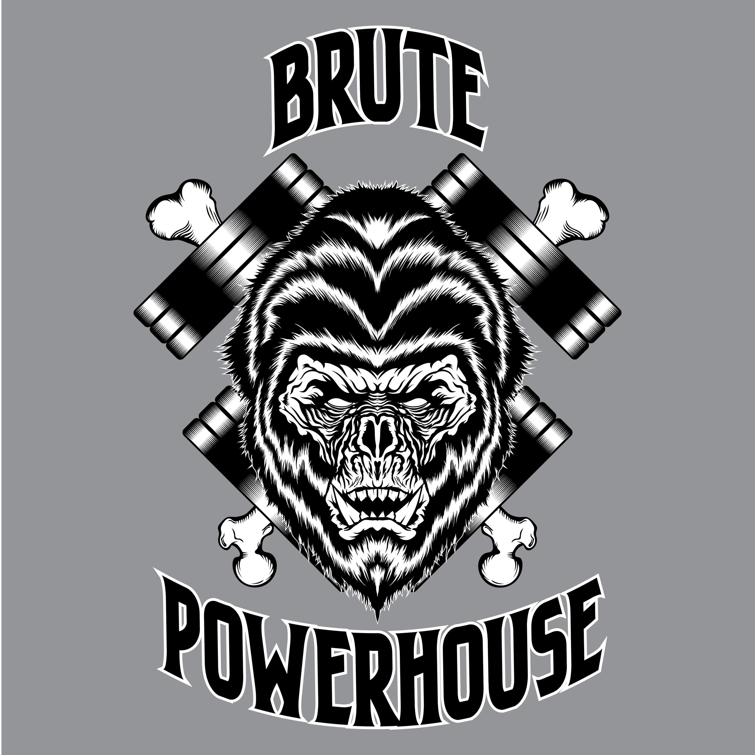 brute-powerhouse-illustration-logo-adobe-illustrator-vector-art-artist-gorilla-monster-ape-savage-gym-crossfit-powerlifting-roberto-orozco-design-graphic-designer-black-white-crosbones-grey.jpg