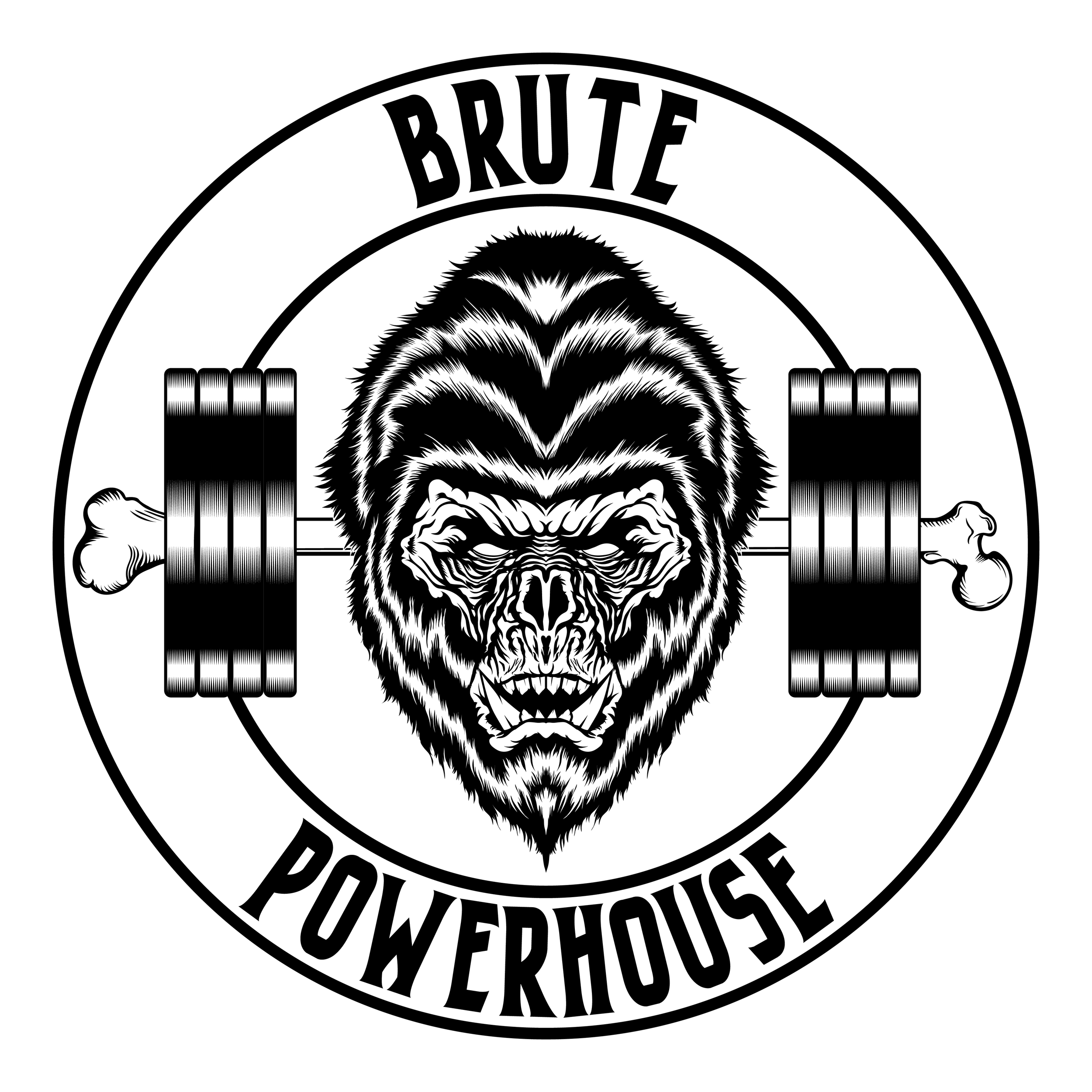 brute-powerhouse-illustration-logo-adobe-illustrator-vector-art-artist-gorilla-monster-ape-savage-gym-crossfit-powerlifting-roberto-orozco-design-graphic-designer-black-white-circle-logos-2.jpg