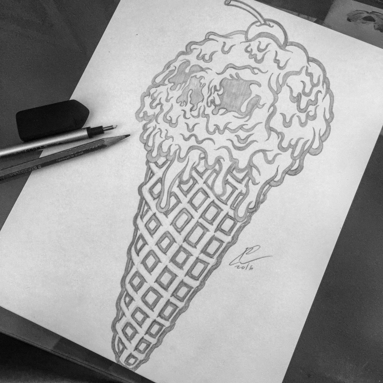 PlanB-Skateboard-Skateboards-Icecream-board-llustration-graphicdesign-pencil-pencils-sketch-graphite-rough-strawberry-cherry-waffle-cone-brand-illustrator-orozcodesign-robertoorozco-artist.jpg