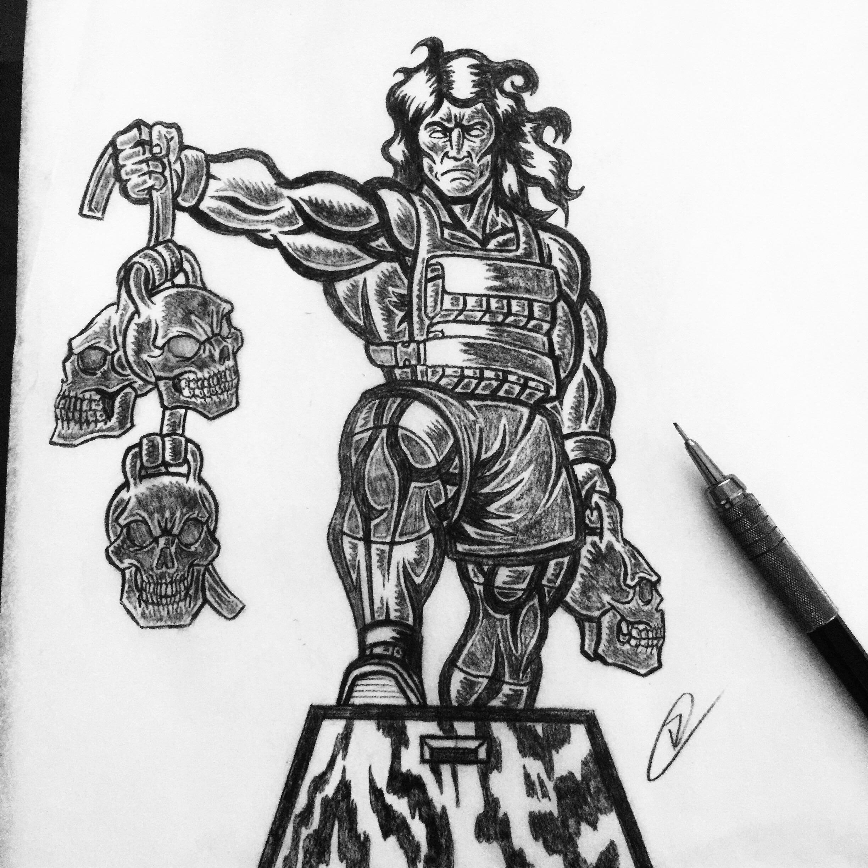 crossfit-wod-slayer-apparel-vector-illustration-pencil-pencils-sketch-roberto-orozco-design-vegas-conan.jpg