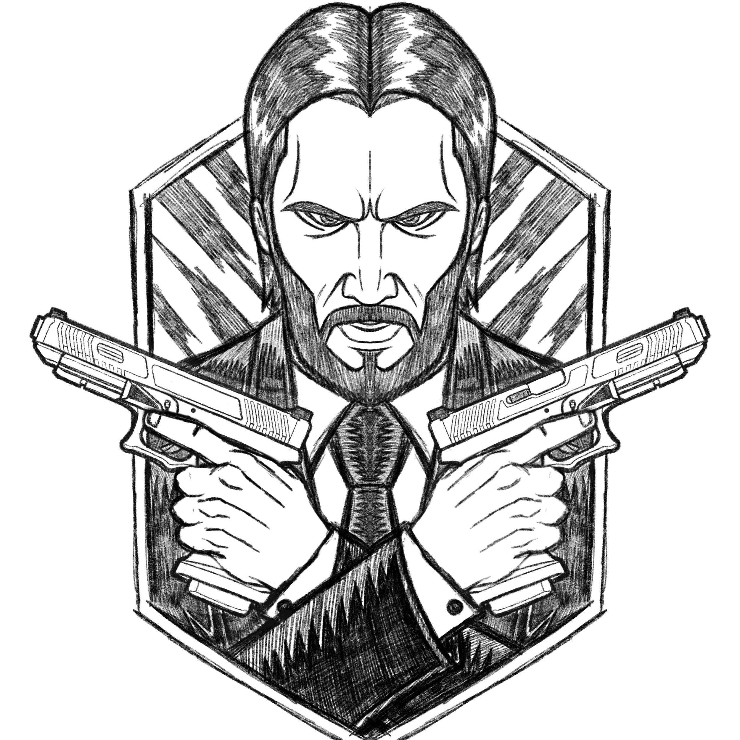 Defcon-Propaganda-john-wick-patch-orozcodesign-robertoorozco-illustration-johnwick-vector-poster-design-pencil.JPG