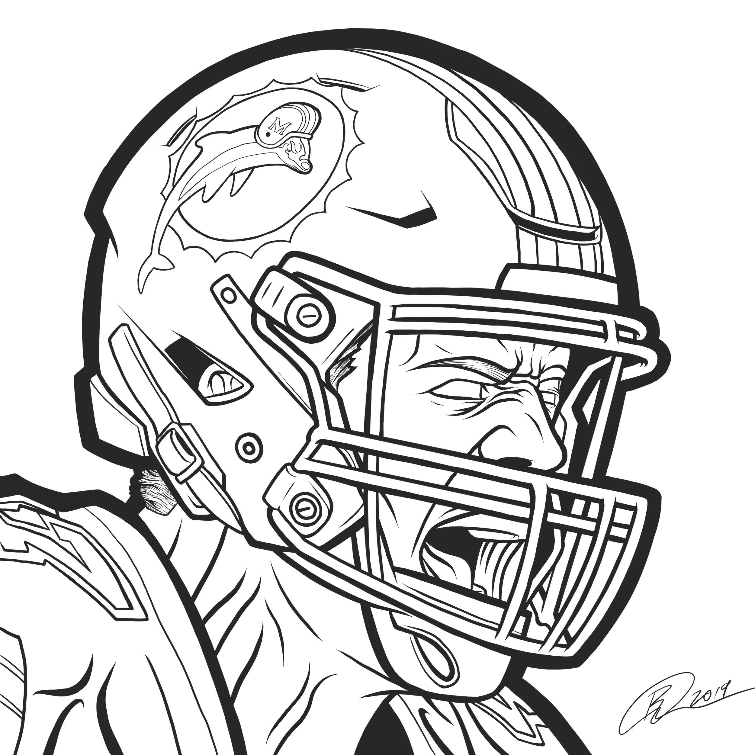 orozcodesign-miamidolphins-NFL-KikoAlonso-illustration-black .JPG