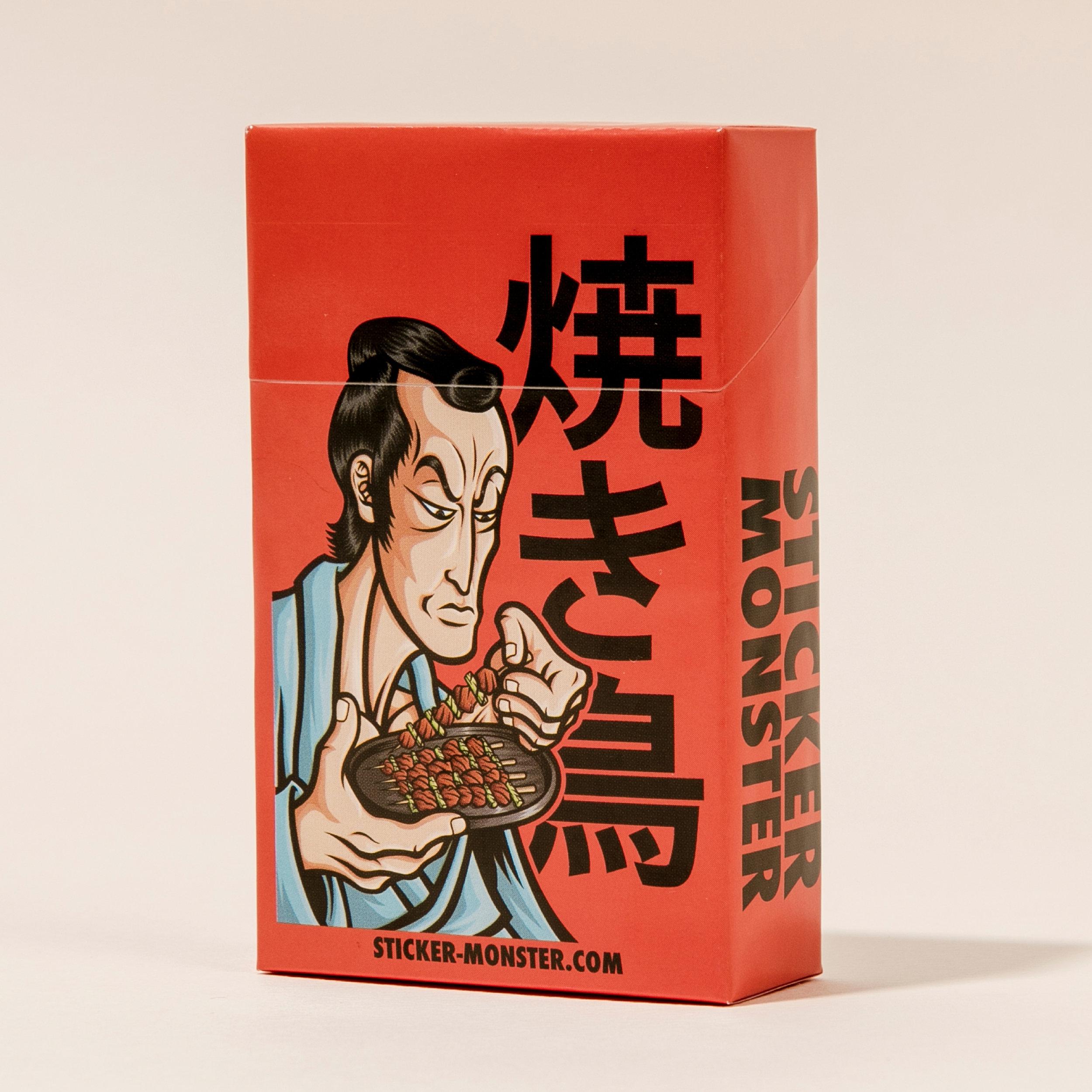 orozcodesign-stickermonster-YakitoriSamurai-CigBox_2.jpg