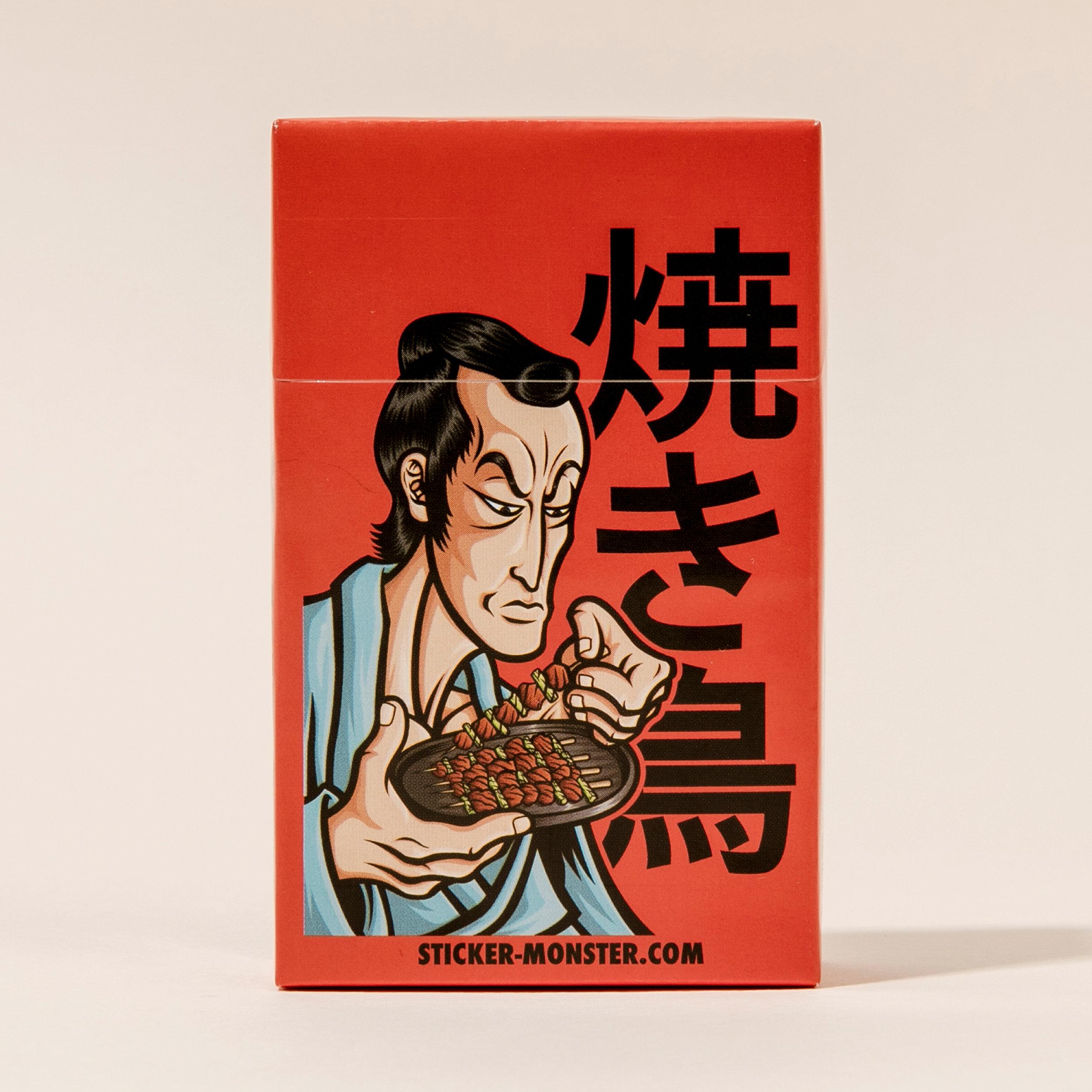 orozcodesign-stickermonster-YakitoriSamurai-CigBox_3.jpg