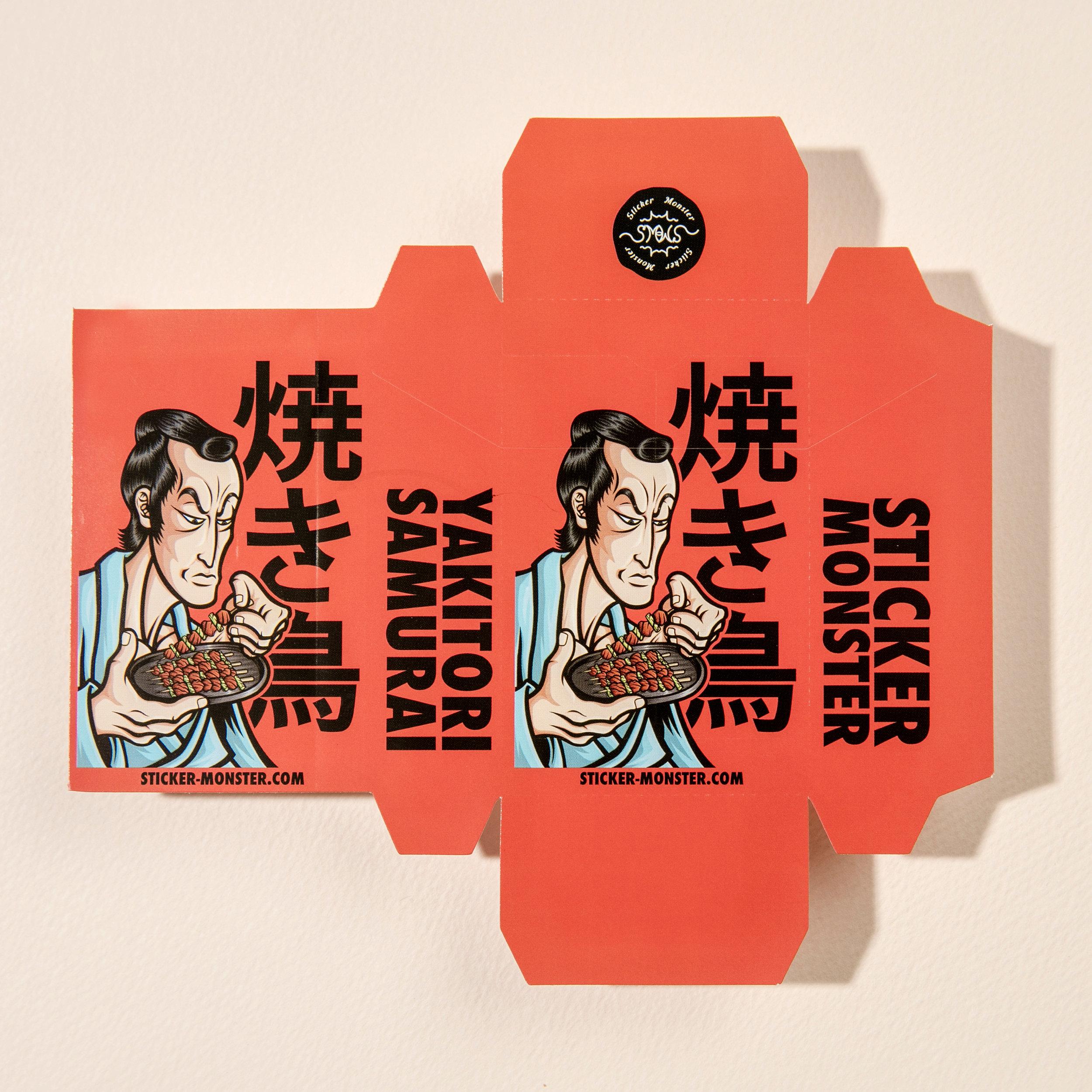 orozcodesign-stickermonster-YakitoriSamurai-CigBox_4.jpg