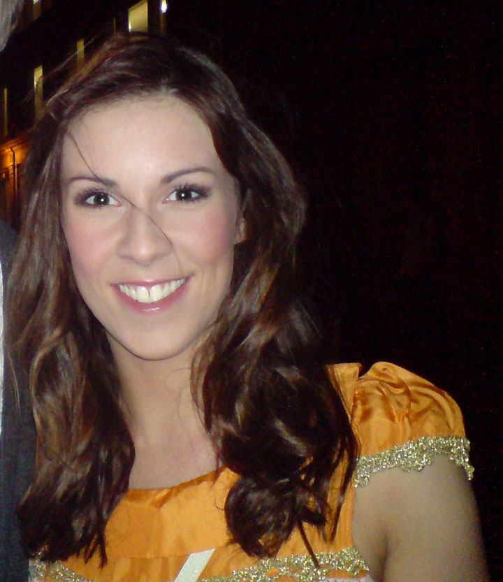 Photo: Verity Rushworth,  Emmerdale  and musical theatre actress